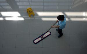 limpieza y tratamiento de suelo
